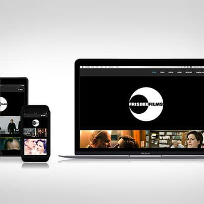 Webdesign FrisbeeFilms