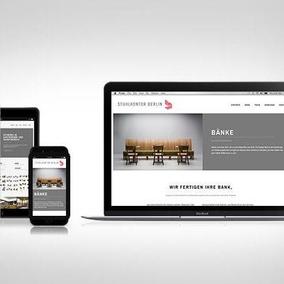 Webdesign Stuhlkontor