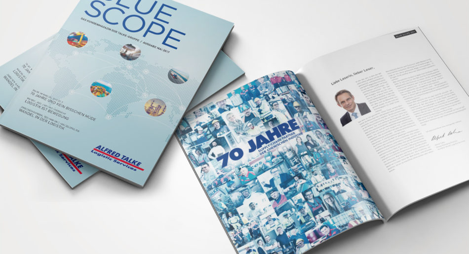 Blue Scope – Kundenmagazin