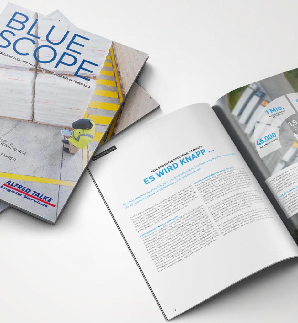 Blue Scope – Kundenmagazin 2018