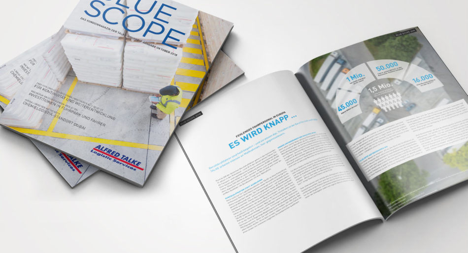 Blue Scope – Kundenmagazin 2018